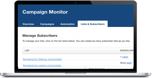 Add to Calendar buttons for Campaign Monitor
